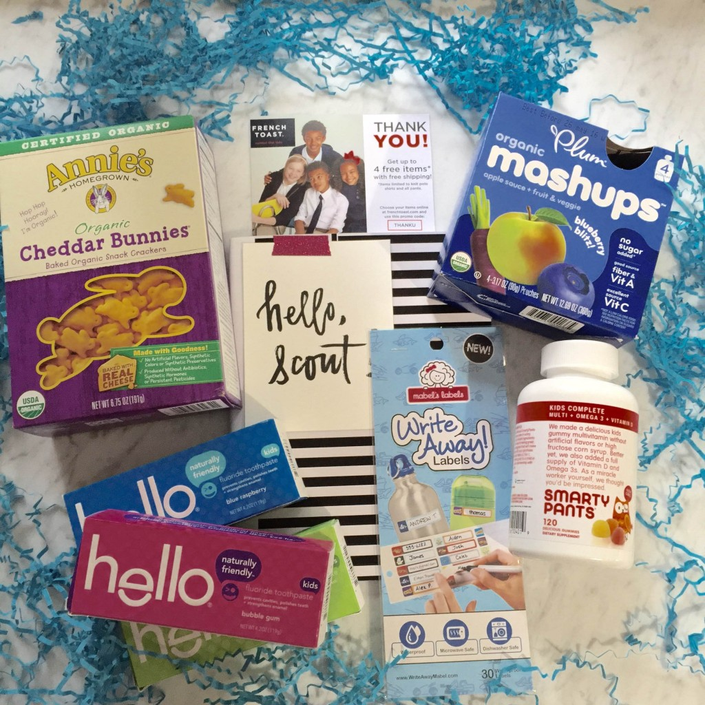 Back-to-School Scout Box Giveaway