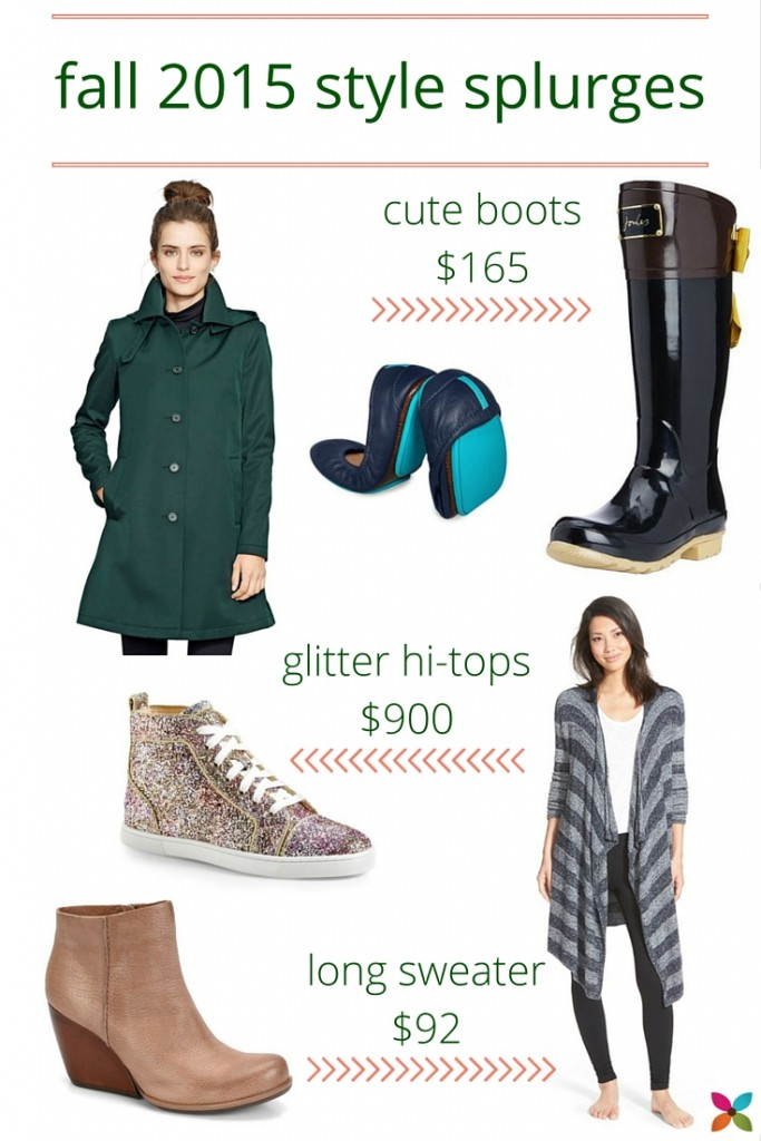 Fall Style 2015 Splurges