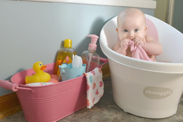 How to Create the Perfect Baby Bath Station