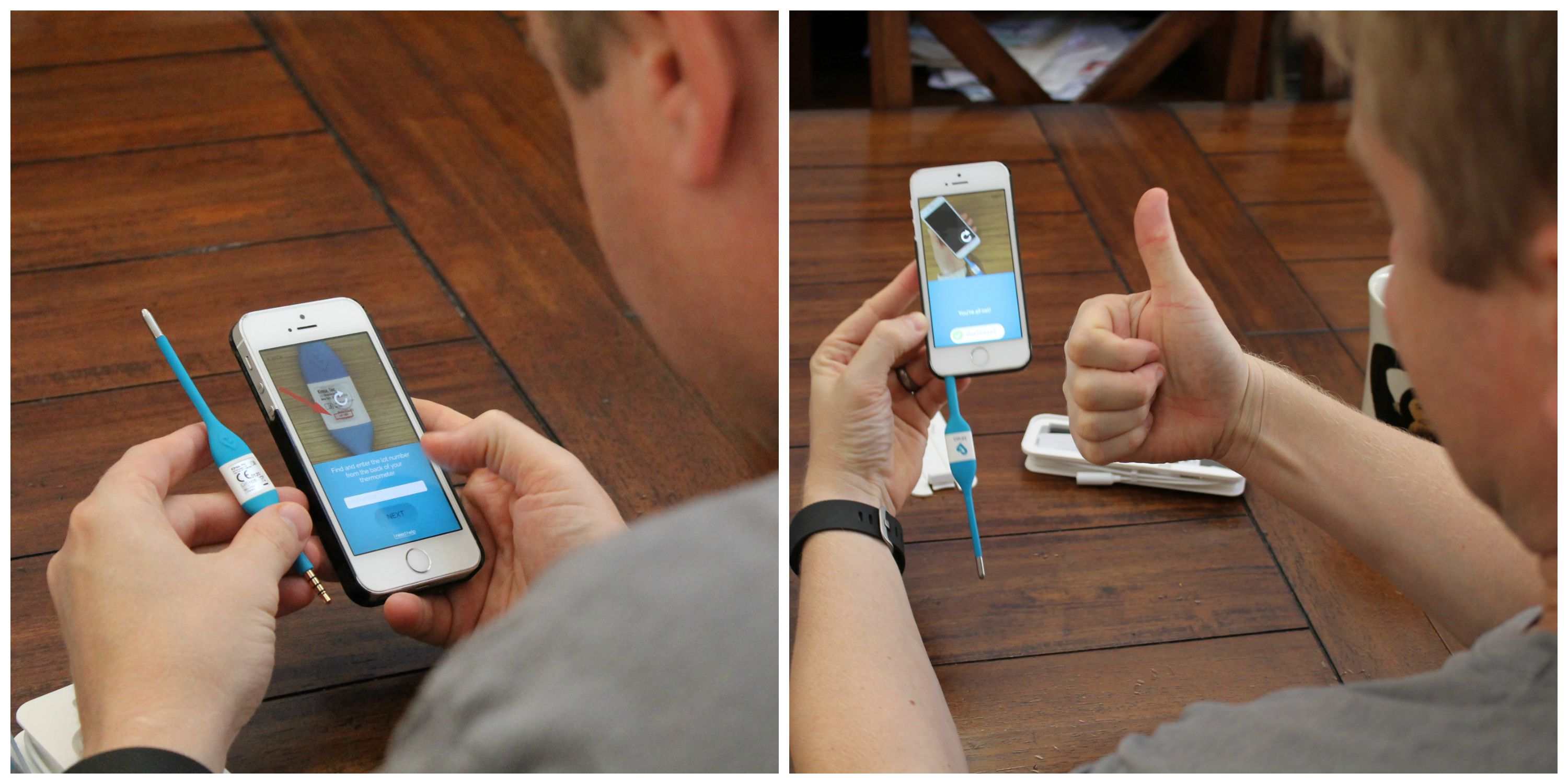How to Use the Kinsa Smart Thermometer