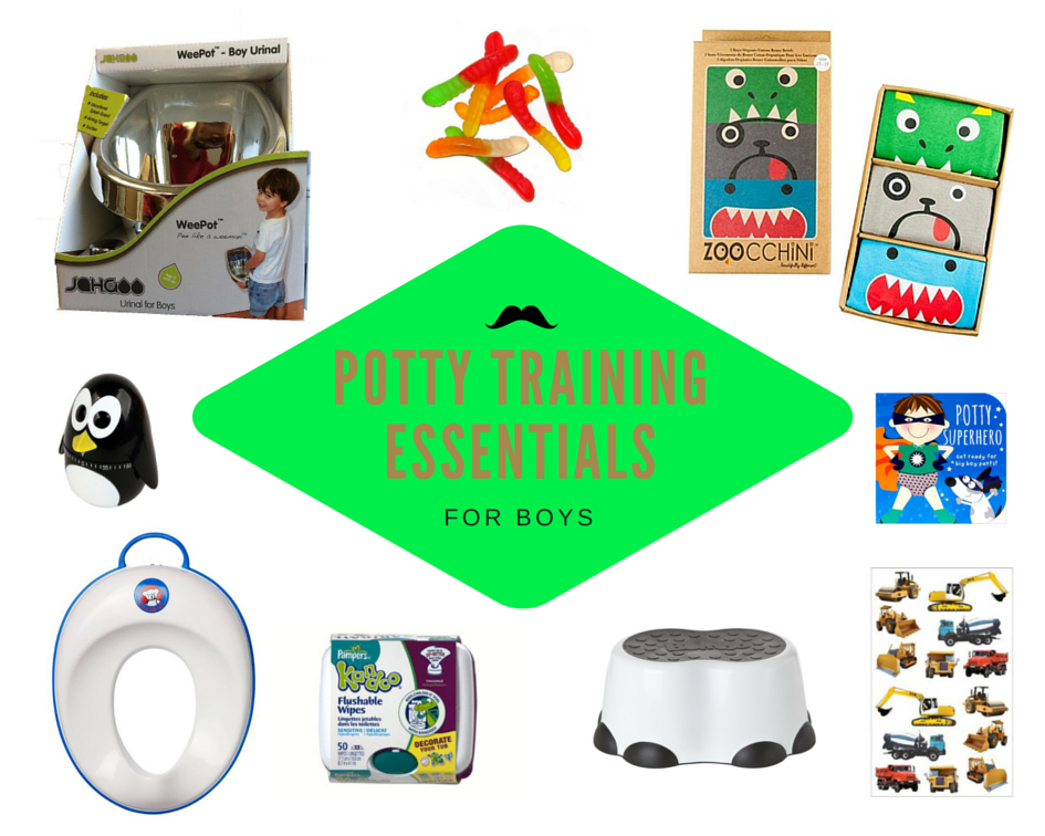 Potty Training Essentials for Boys