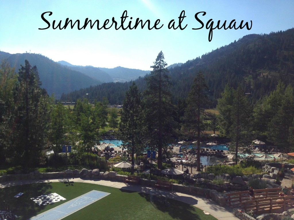 Summer at Squaw: What to do with Kids