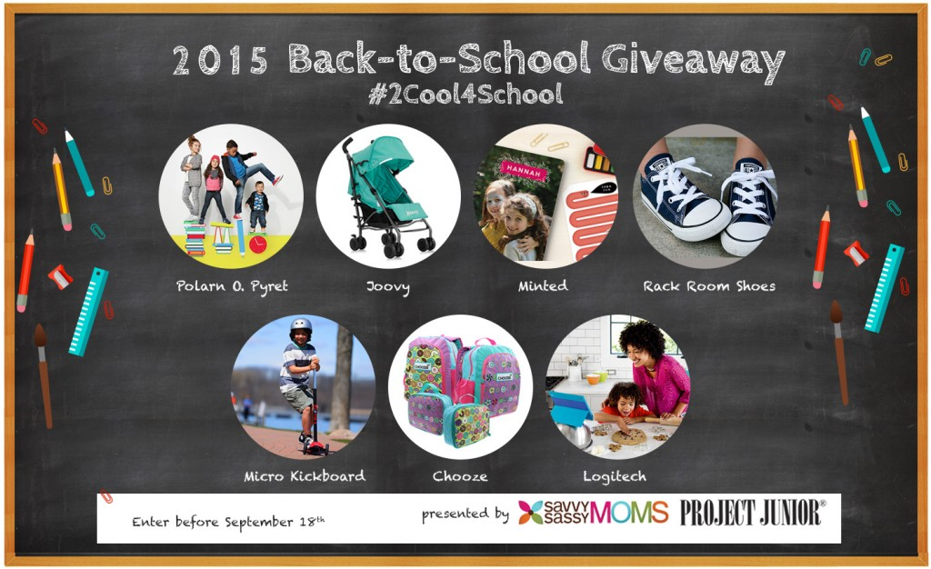 #2Cool4School Back-to-School Giveaway