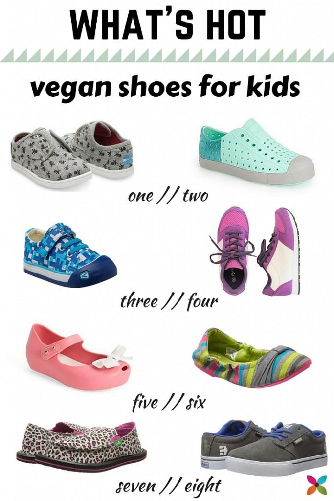 Coolest Vegan Shoes for Kids