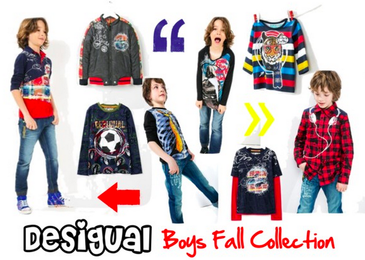 Desigual Boys Fall Collection