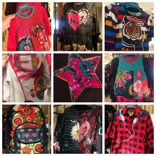 Desigual Fall Kids Collection