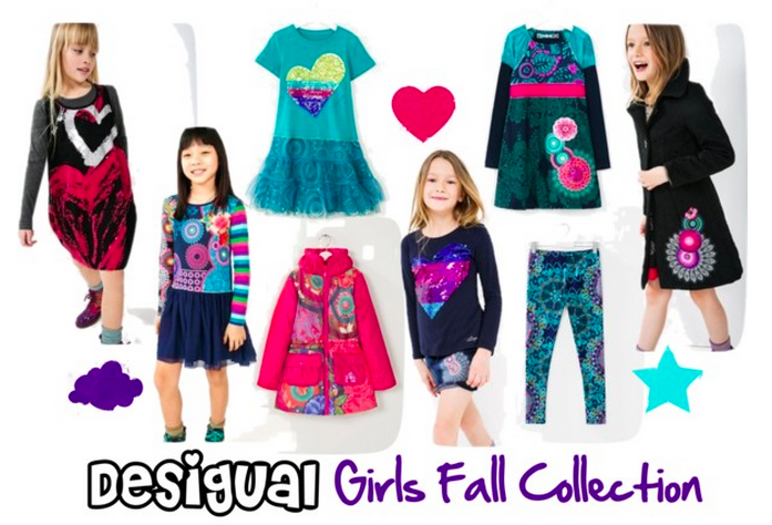 Desigual Girls Fall Collection