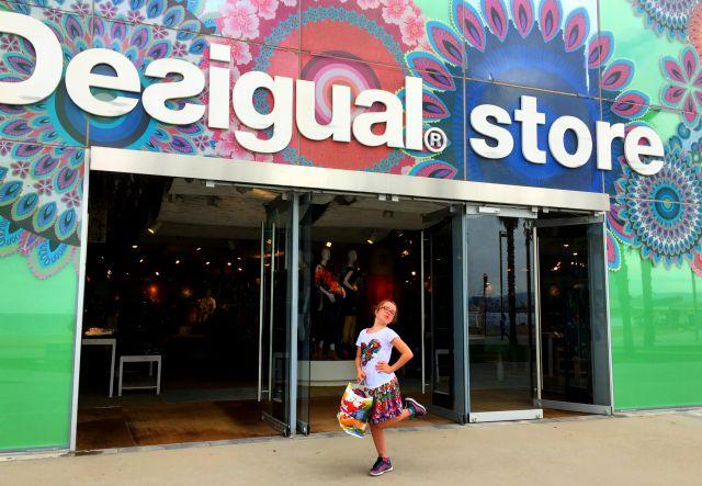 Desigual Store barcelona Spain McKenna