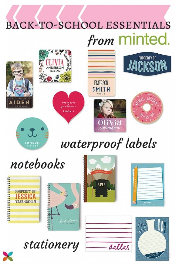 Minted Back-to-School Essentials for Kids