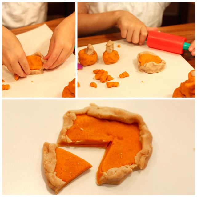Fall Play Dough Ideas