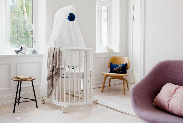 Stokke Sleepi with Aden and Anais Nursery
