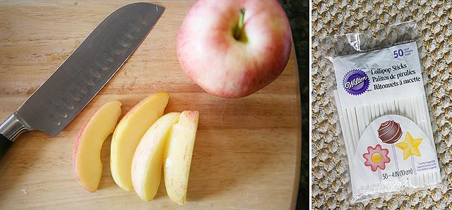 Fall Recipes: Caramel Apple Pops with Homemade Caramel