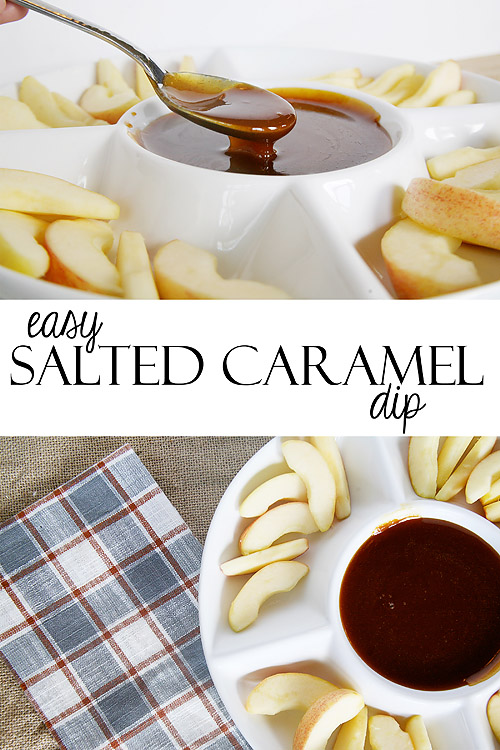 Easy Homemade Salted Caramel Dip