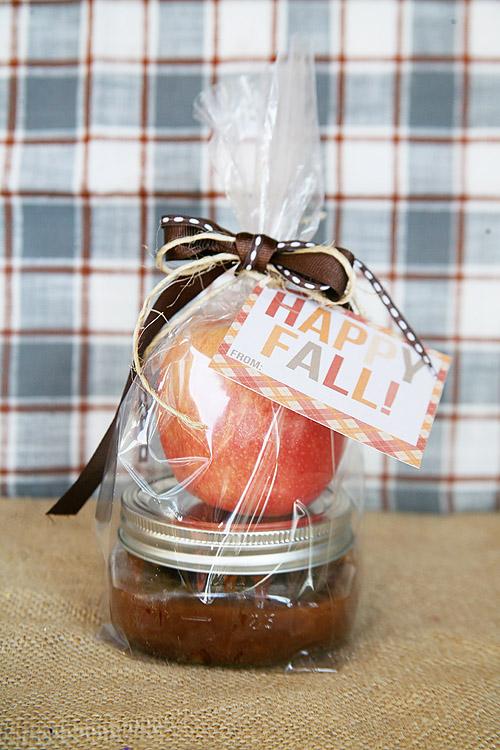 Fall Hostess Gift: Salted Caramel Dip