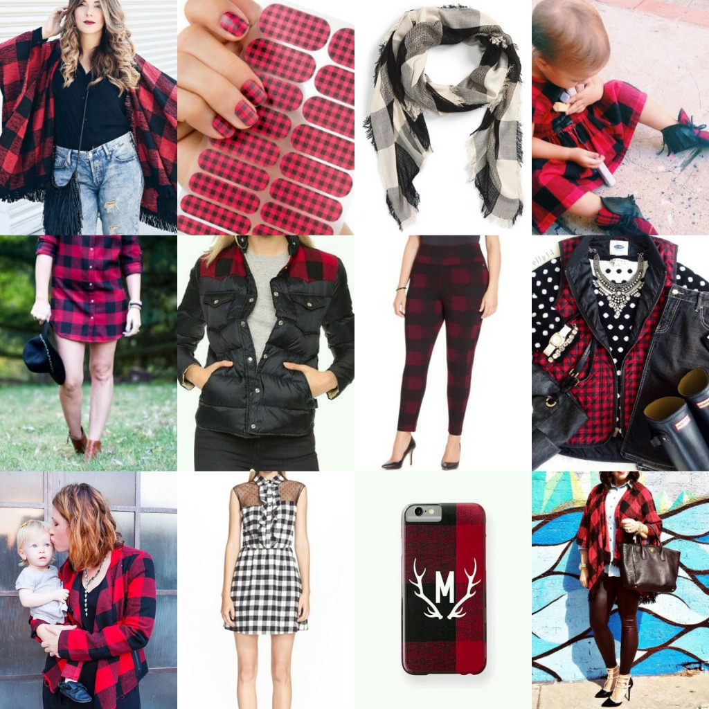 Buffalo Plaid Inspiration for Fall