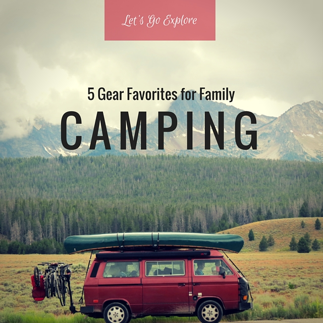 5 Fall Camping Gear Favorites for Families