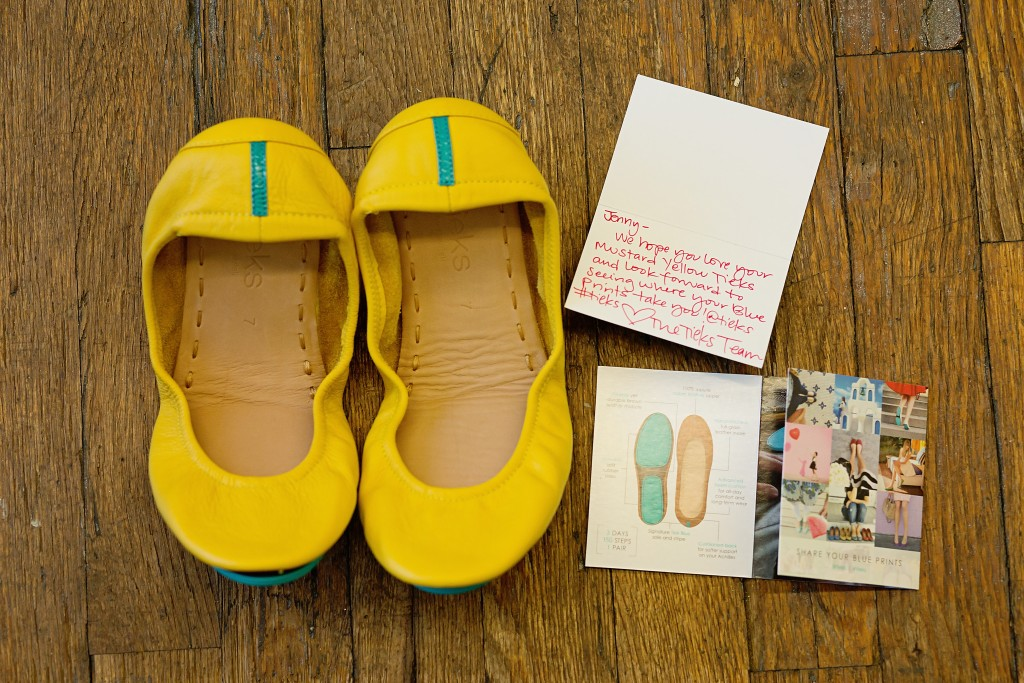 How to Wear Yellow Tieks in Fall