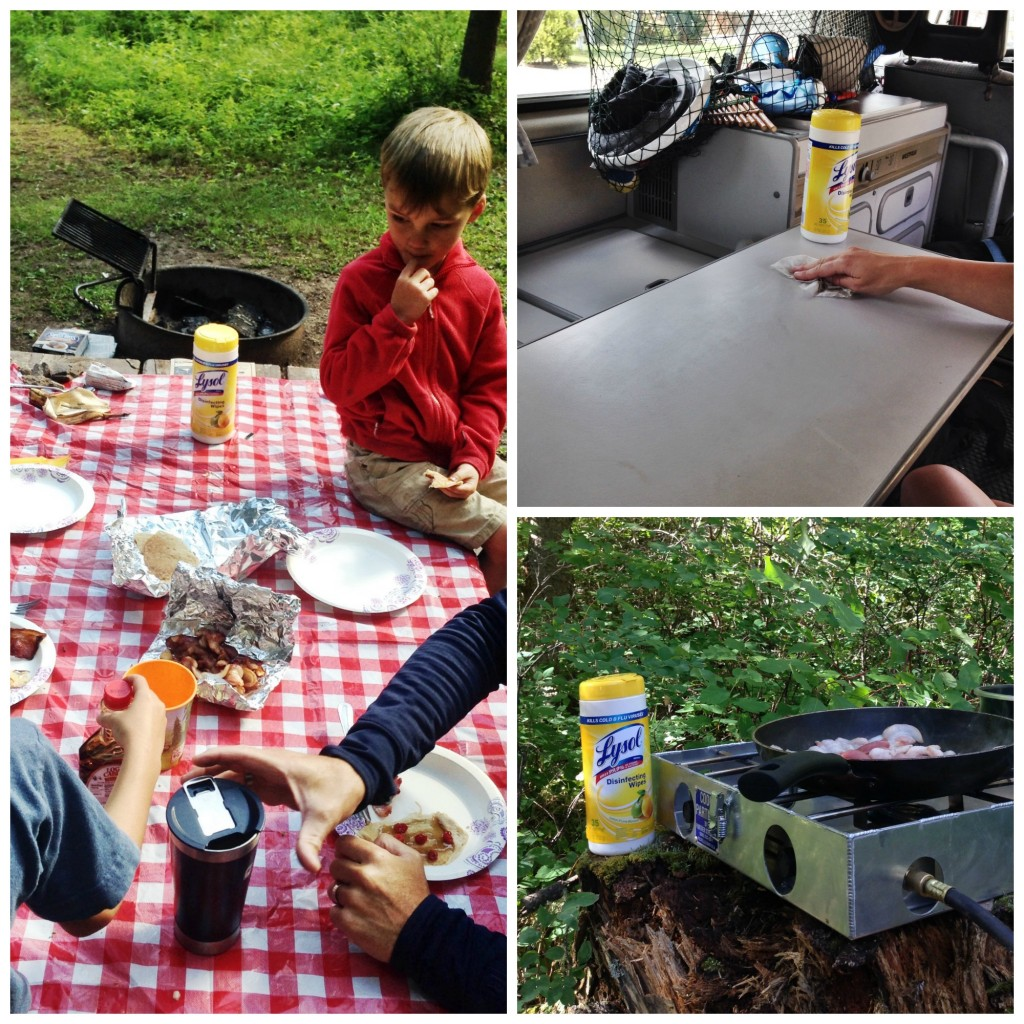 Tips for Easy Camping Clean-Up with Kids