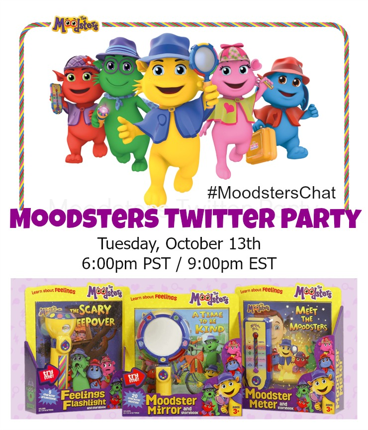 Moodsters Twitter Party