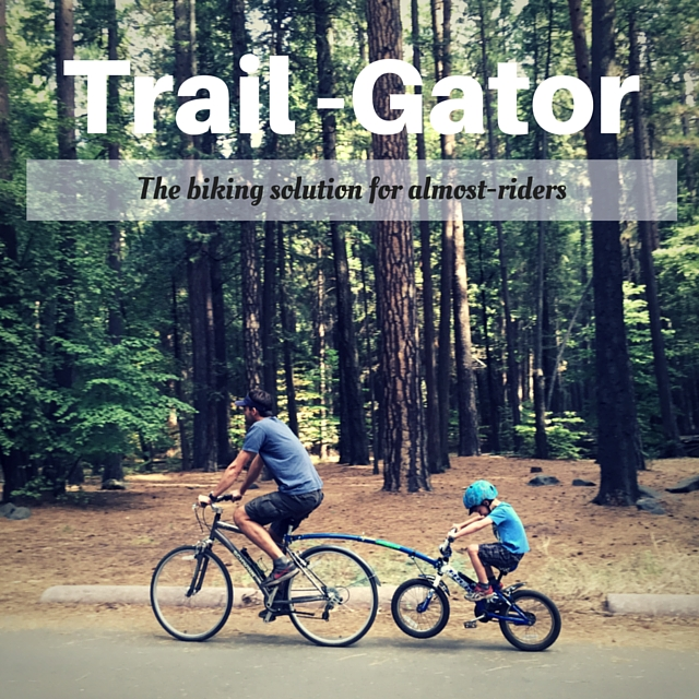 Easy Family Bike Trips with Trail-Gator