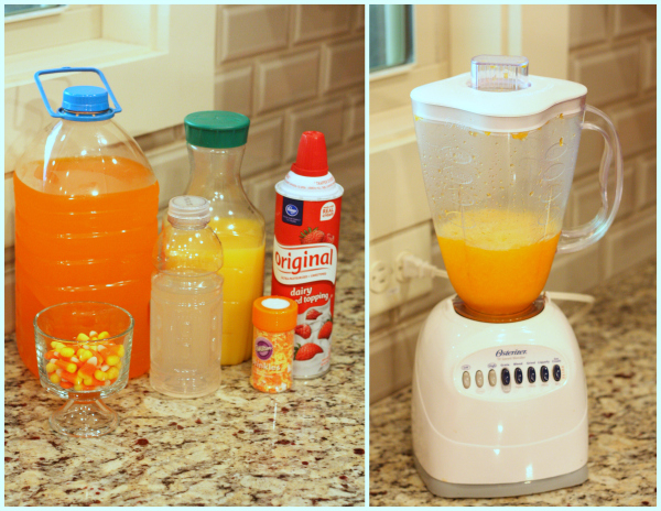 How to Make Frozen Candy Corn Punch