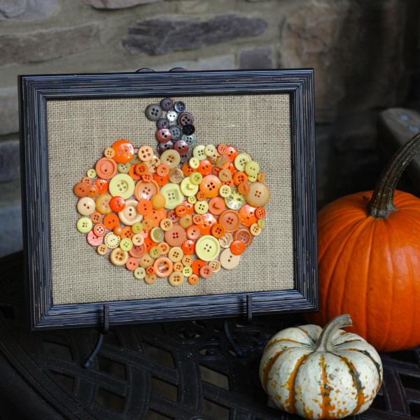 Easy Burlap Pumpkin Crafts