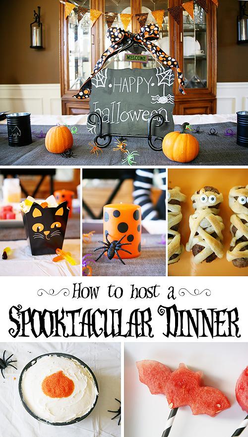 How to Host a Spooky Halloween Dinner