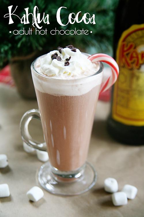 Kahlua Cocoa: Adult Hot Chocolate Recipe