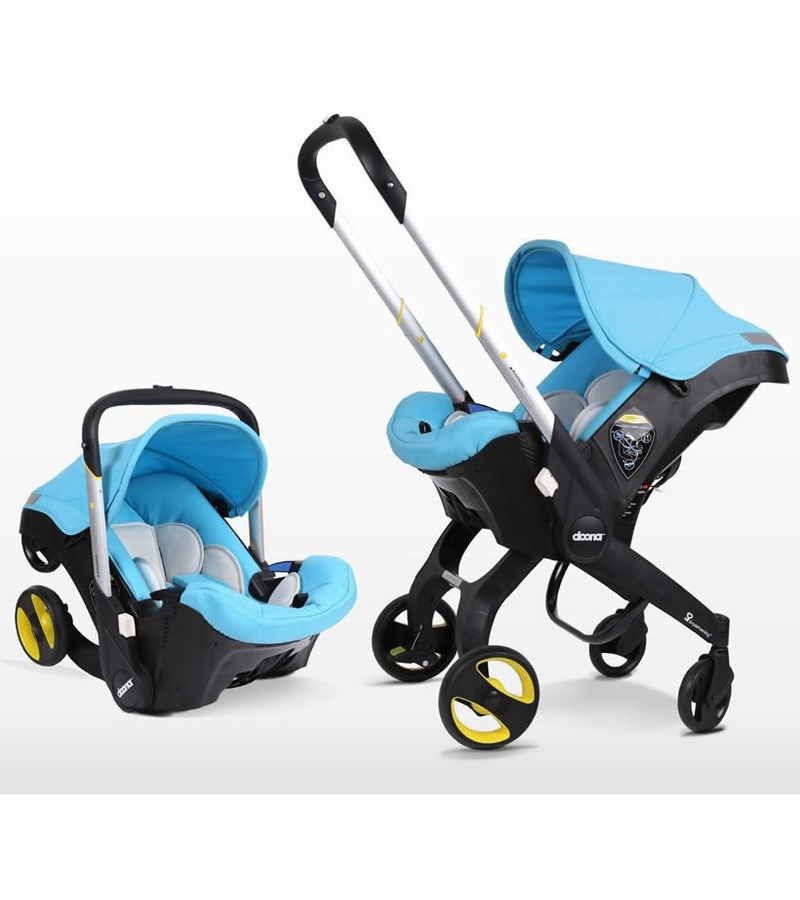 Travel Must-Have: Car Seat that Converts into a Stroller