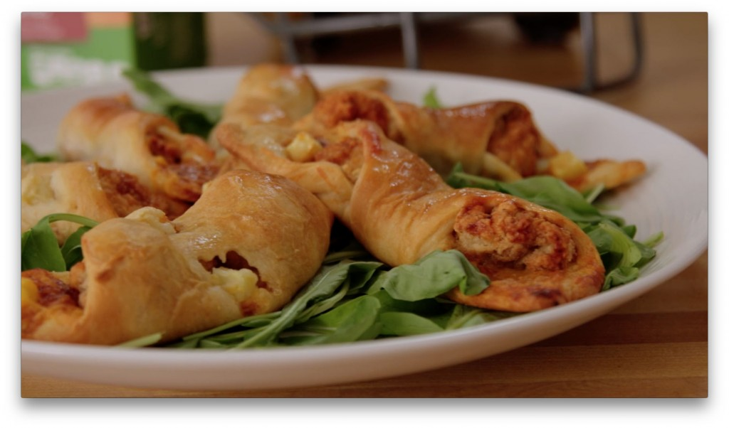 BBQ Chicken Roll-Ups