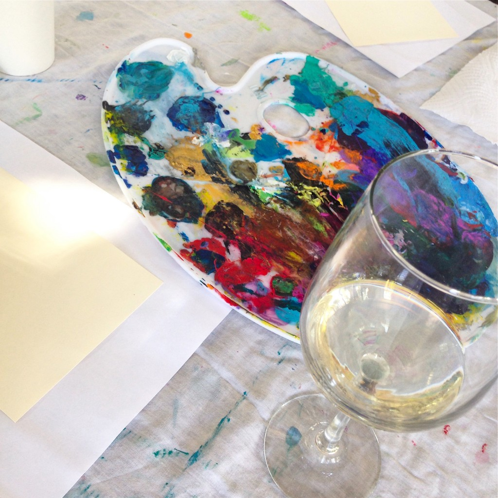 Vino and Van Gogh Paining Classes