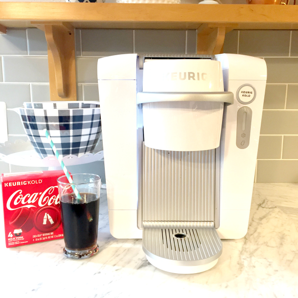 New Keurig Kold Makes Coke at Home