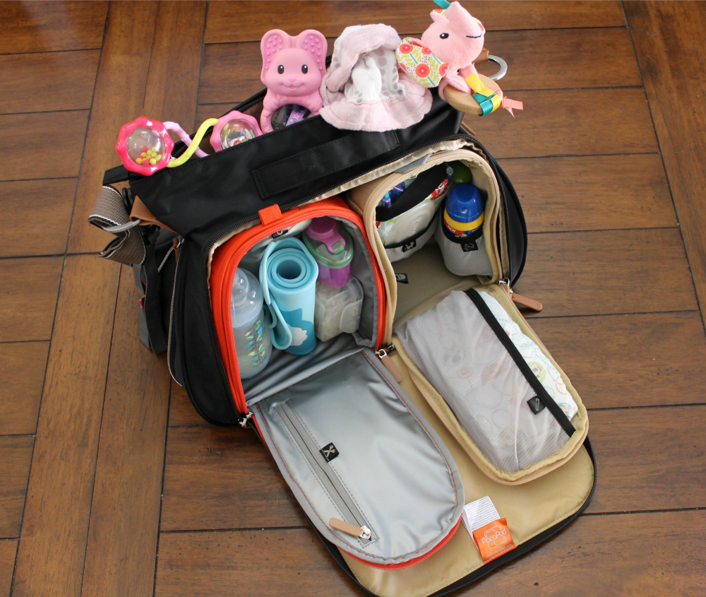 Best Diaper Bags for Traveling with Kids