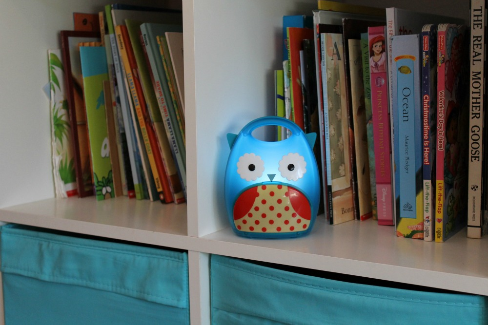 Holiday Travel with Kids: Portable Night Light from Skip Hop