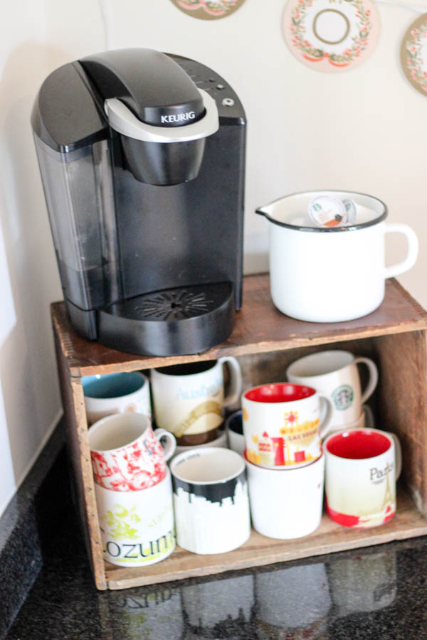 How to create a well stocked coffee station