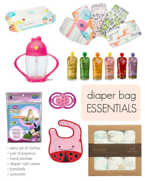 New to Newlie : Diaper Bag Essentials