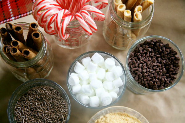 Yummy Hot Chocolate Bar Toppings
