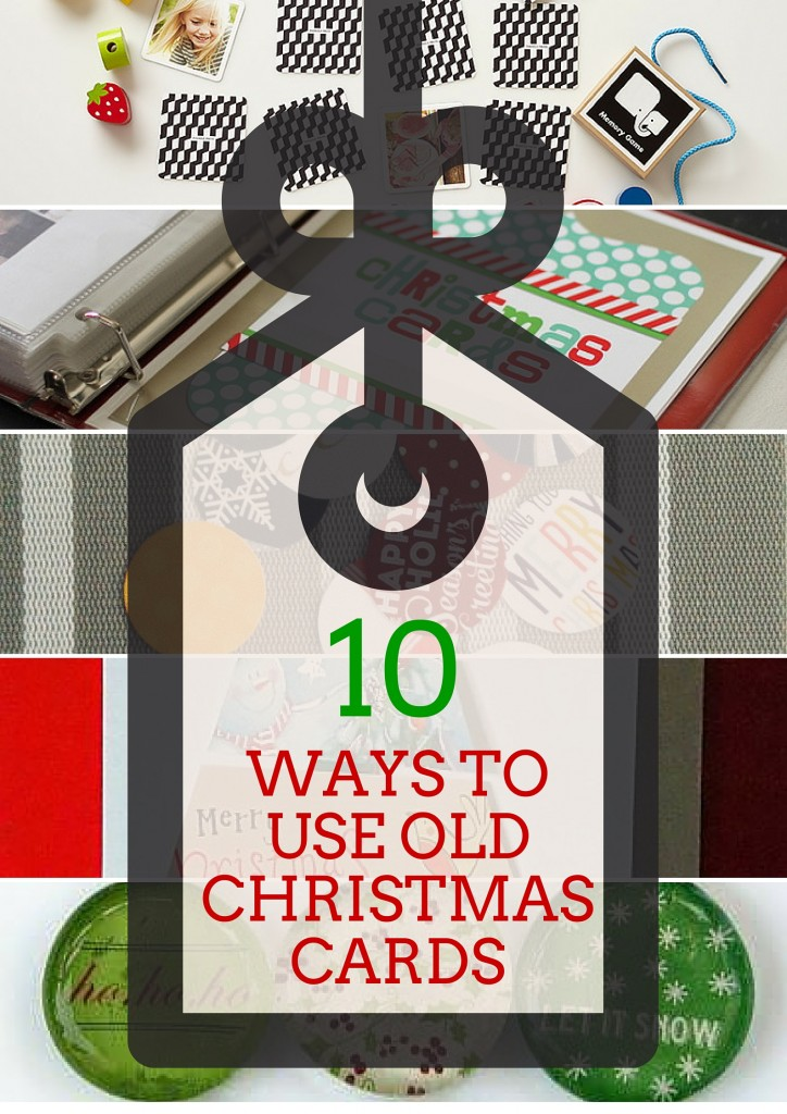 10 Ways to Use Old Christmas Cards