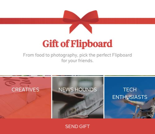 Give the Gift of Flipboard This Holiday Season