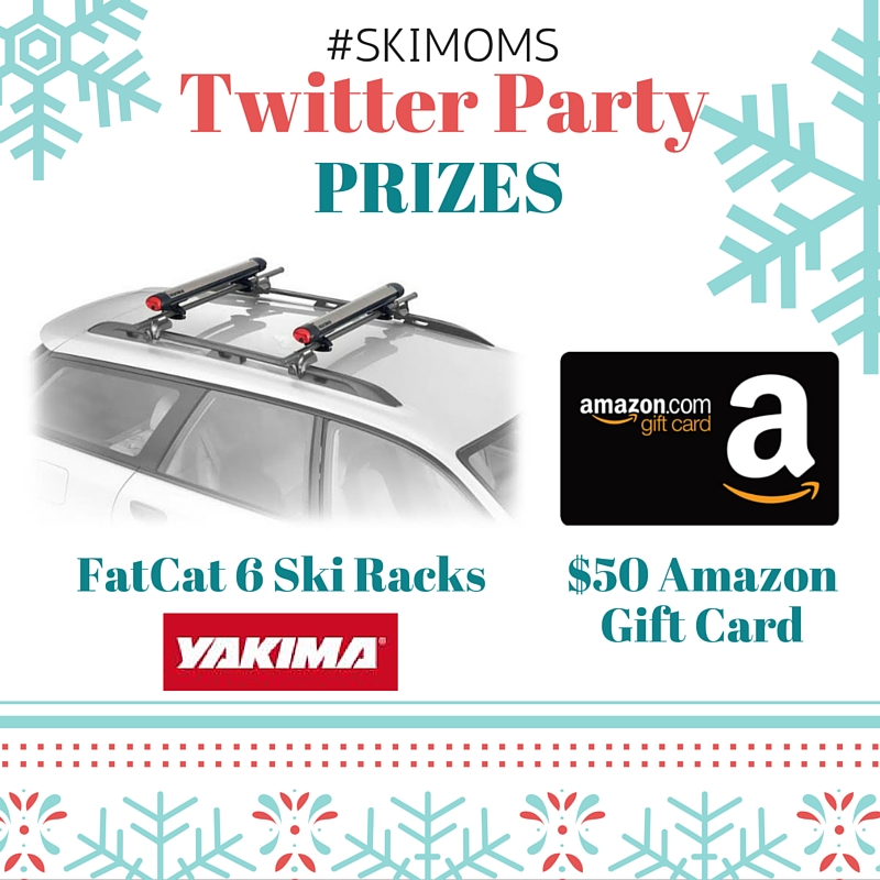 SkiMoms Twitter Party Prizes- January 5th