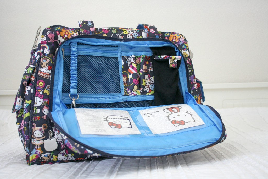 Tokidoki + Ju-Ju-Be Be Prepared Diaper Bag {Giveaway}