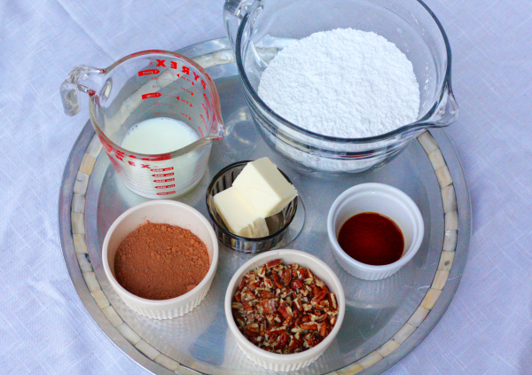 Ingredients for Making Fudge