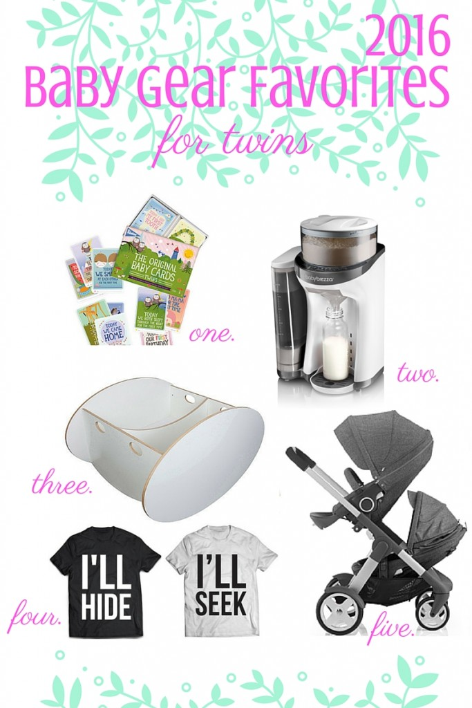 2016 Baby Gear Favorites for Twins