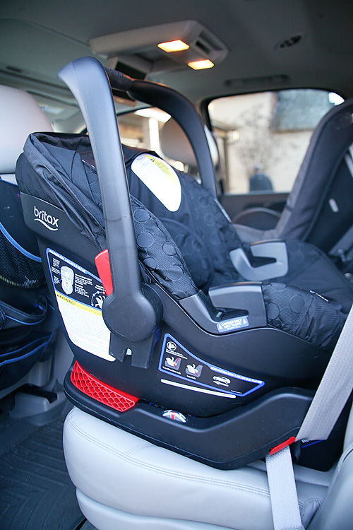 All about the Britax B-Safe 35 Car Seat