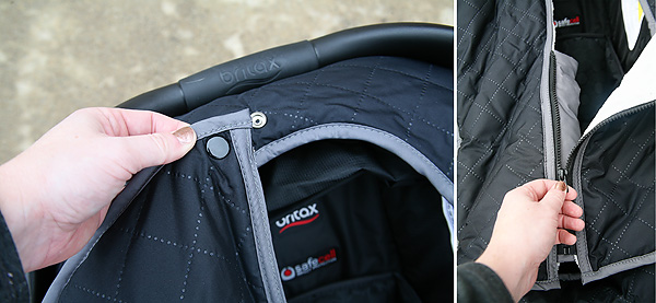 Keeping Baby Warm in Winter with Britax