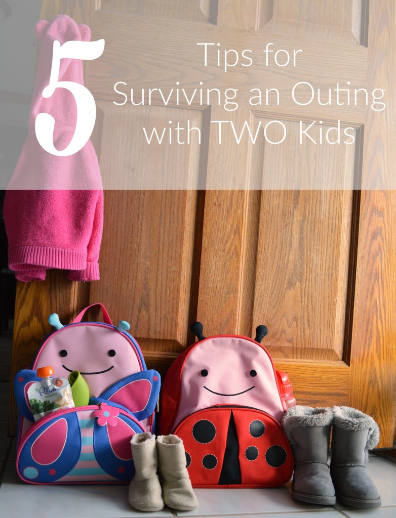 5 Tips for Suriving an Outing with Two Kids