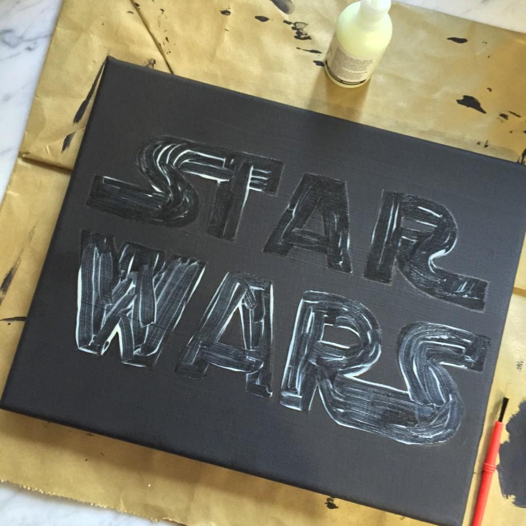 Glow-in-the-Dark Star Wars Logo