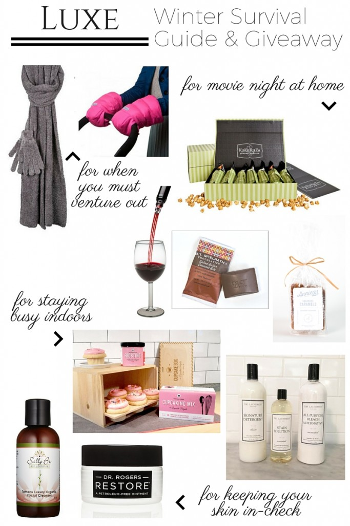 Luxe Winter Survival Guide and Giveaway