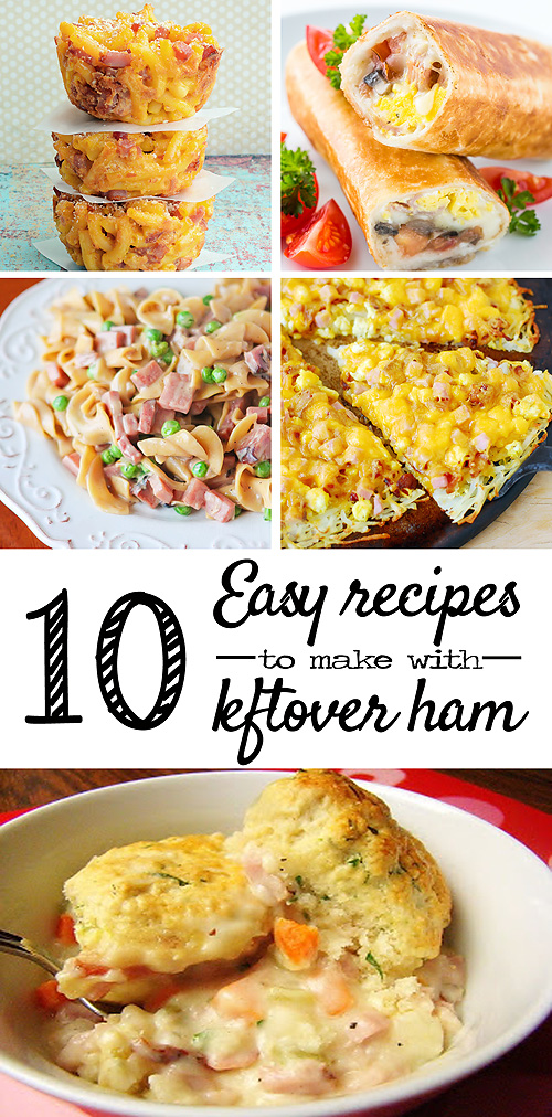 10 Easy Leftover Ham Recipes