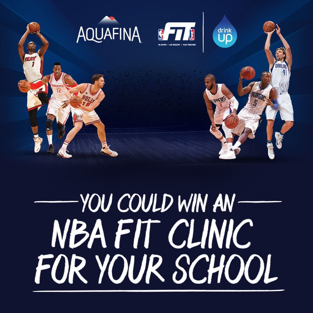 Enter to win an NBA FIT Clinic for your school
